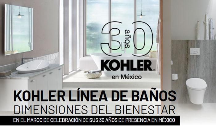 KHOLER - EN EL MARCO DE CELEBRACIÓN DE SUS 30 AÑOS DE PRESENCIA EN MÉXICO